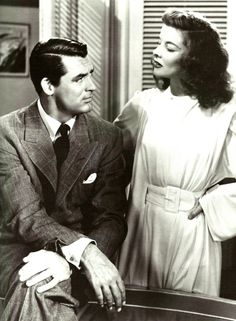 C.K. Dexter Haven & Tracy Samantha Lord Haven. The Philadelphia Story.