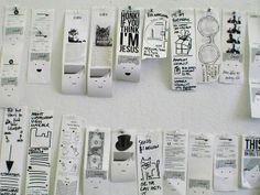 Little printer allows us to document the content of a workshop in an engaging way.