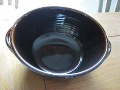 Jugtown Pottery Tobacco Spit Brown Double by CrystalCoaster