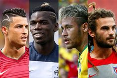 WORLD CUP HAIR: Forget the scissor kicks, red cards, and Gisele's Louis Vuitton trophy-ceremony dress. The hair had it at the World Cup, with Ronaldo's geometric cutouts, Paul Pogba's highlights, Neymar's platinum tips, and Kyle Beckerman's dreadlocks.