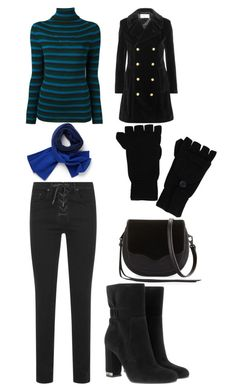 """Winter outfit"" by sage-steward on Polyvore featuring Yves Saint Laurent, Lacoste, P.A.R.O.S.H., Rebecca Minkoff, rag & bone, MICHAEL Michael Kors and ExOfficio"