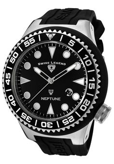 Price:$129.99 #watches SWISS LEGEND 21818D-01-NB, For over a quarter of a century the makers of Swiss Legend have created their own legendary reputation by bringing their loyal customers timepieces steeped in tradition, design and versatility. Swiss Legend is a brand unlike any other.