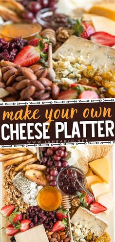 Pair a variety of cheeses with fruits, nuts, crackers, and spreads for the ultimate appetizer platter! DIY Cheese Platter includes tips and tricks on how to arrange the most beautiful cheese platter… More