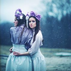 great series of photographs with gorgeous mood and tones, by oprisco http://oprisco.com #photography #art #blue