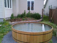 We found the most beautiful stock tank pools around so you can steal inspiration and start planning your own backyard paradise. Stock Pools, Stock Tank Pool, Backyard Patio, Backyard Landscaping, Backyard Ideas, Outdoor Spaces, Outdoor Living, Pool Paint, Small Pool Design