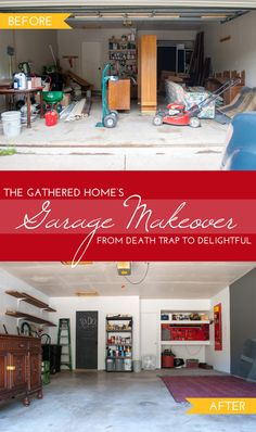 Garage Makeover by Ace Blogger @thegatheredhome