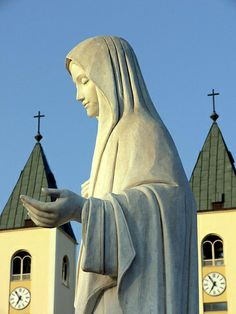 The Blessed Mother at St. James Church  Medjugorje