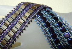 Pattern for Tile or Tila Double Wide by BaublesbyBalonis on Etsy