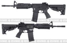 Pre-Order ETA June 2016 CAA Licensed Nylon Polymer M4 Carbine Airsoft AEG Rifle by King Arms - Black