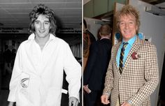 Music artists of the '70s: Then and now