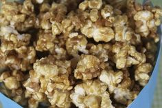 salted toffee caramel corn