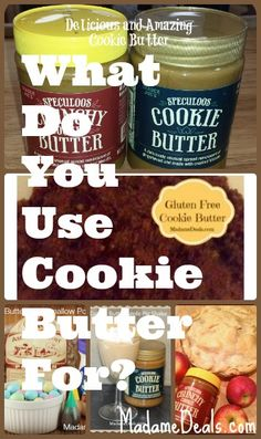 My favorite ways to use Cookie Butter http://madamedeals.com/cookie-butter/ #inspireothers #cookiebutter #speculoos #traderjoes #recipes