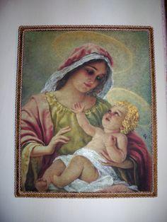 Quadro con Madonna e Bambino