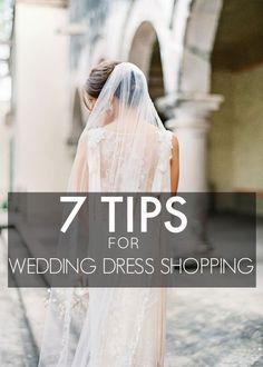 7 Wedding Dress Shopping Tips