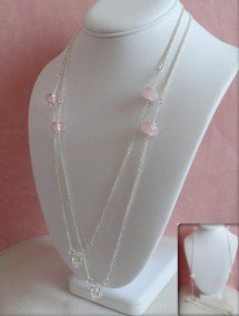 Pastel Murano Bead Necklace.  Good idea for using up some of my large hole beads.