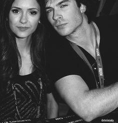 Ian Somerhalder & Nina Dobrev The Vampire Diaries