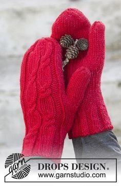New Crochet Gloves Diy Mittens Pattern Ideas Crochet Mittens Free Pattern, Fingerless Gloves Crochet Pattern, Fingerless Mitts, Knit Mittens, Knitted Gloves, Knitting Patterns Free, Free Knitting, Crochet Patterns, Drops Design