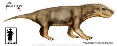 Progalesaurus lootsbergensis by Theropsida.deviantart.com on @DeviantArt