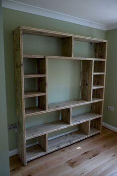 Diy Möbel DIY Bookshelf Design Ideas, # Bookshelf Types Of Wood Flooring Choosing Diy Bookshelf Design, Tv Wall Design, Bookshelf Ideas, Diy Bookshelf Wall, Bedroom Bookshelf, Bookshelf Speakers, Cheap Bookshelves, Bookcases, Wall Storage Shelves