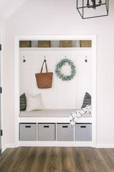 Closet Mudroom DIY