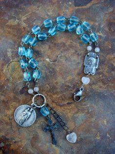 Notre Dame des Miracles Priez Pour Nous  by ObjectsOfDevotion, $177.00