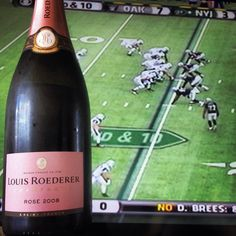 We kick off this year's Football Week with a vintage rosé Champagne to celebrate the awesomeness of the grape + gridiron pairing.