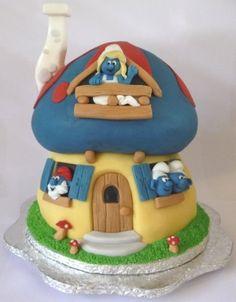 Schlumpf Kuchen