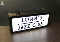 20 x 8 Personalised LED Light Boxes Any Text Design / by BobCool