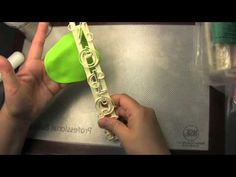How to use Delicate Fondant Letter Cutters - Bake & Deco Warehouse - YouTube