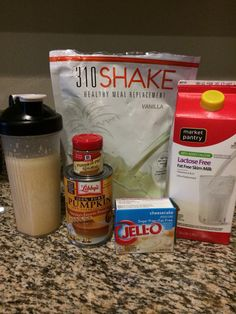 Nutrition Courses Near Me Protein Powder Recipes, Protein Shake Recipes, Protein Snacks, Smoothie Recipes, Smoothie Proteine, Smoothies, Blender Recipes, Healthy Recipes, 310 Nutrition Shake