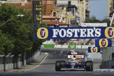 1991 Grand Prix of Australia Nigel Mansell WILLIAMS FW14 RENAULT RS3 (NA3.5L-V10) Albert Park Melbourne, Nigel Mansell, Australian Grand Prix, The Golden Years, F 1, Racing, Adventure, Cars, Ayrton Senna