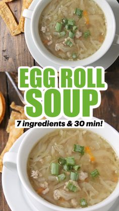 Easy Homemade Soups, Homemade Dinner Rolls, Soup Recipes, Cooking Recipes, Greek Lemon Chicken, Veggie Delight, Soup And Sandwich, Asian Cooking, Healthy Chinese