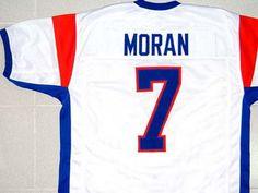 Blue Mountain State Jersey Alex Moran White New Any Size XS 5XL  14002edb4