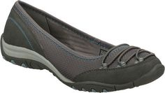 $53.95-$56.99 SKECHERS Women's Inspired-Choice (Grey 7.5 M) - Be a trendsetter in style and comfort with the SKECHERS Inspired - Choice shoe.  Soft mesh fabric and smooth suede-textured synthetic upper in a slip on casual ballet flat sneaker with stitching and overlay accents.  Bungee laced front detail. http://www.amazon.com/dp/B005NGU2TK/?tag=icypnt-20