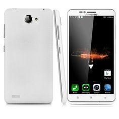 "Lenovo A816 Lte 4G - Smartphone Movil Libre Android 5.5"" (Dual Sim, Pantalla Tactil, Quad Core, 8Gb Rom 1Gb Ram, 8Mp Cámara, GPS APK WIFI, Multi-Idioma), Blanco"