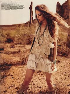 boho hippie chic fashion summer