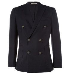 Boglioli Dover Double-Breasted Wool-Hopsack Blazer | MR PORTER