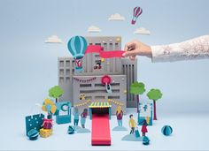 Paper Craft for Wipro Winsights on Behance