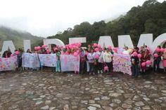 Cabecera municipal de Pinal de Amoles, Qro., a 24 de octubre de 2016, con la finalidad de crear conciencia para...