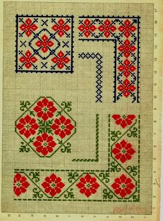 Cross Stitch Borders, Cross Stitch Charts, Cross Stitch Designs, Cross Stitching, Cross Stitch Patterns, Embroidery Patterns Free, Embroidery Applique, Cross Stitch Embroidery, Embroidery Designs