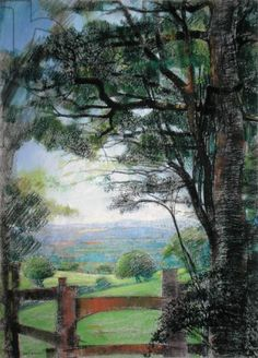Pastorale pastel   by Claire Spencer