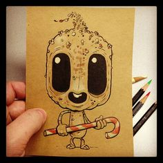 This guy ( Chris Ryniak ) I awesome If you like cute alien dudes :)