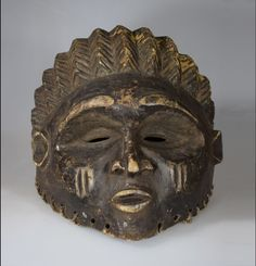 Rare Fertility Rites Female Helmet Mask - RUNGU - Northeastern Zambia African Masks, African Art, Lake Tanganyika, Tribal Art, Republic Of The Congo, Fertility, Helmet, Lion Sculpture, Auction
