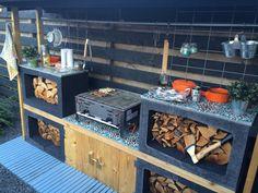 image – Markus – – My World Terrace Grill, Terrace Garden, Parrilla Exterior, Grill Table, Hydrangea Care, Bbq Area, Terrace Design, Outdoor Kitchen Design, Barbacoa