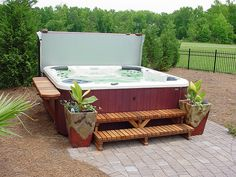 Right and quality buy from the leading store Spa Covers USA at the best price. We offer hot tub covers, spa covers, spa accessories, cover lifters, and so on. Hot Tub Gazebo, Hot Tub Garden, Hot Tub Backyard, Backyard Patio, Hot Tub Bar, Hot Tubs, Hot Tub Surround, Hot Tub Accessories, Hot Tub Time Machine