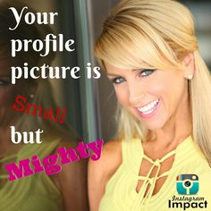Your Instagram profile picture is so important just like your profile picture for any other social media platform!