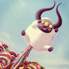 Art director reveals the bad-taste monsters inside his brain | Illustration | Creative Bloq