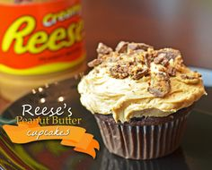 Oh yes we did. This Reese Peanut Butter Cupcakes Recipe is AMAZING. Simple