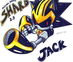 SHARD aka JACK practice by trunks24.deviantart.com on @DeviantArt Shard the robot >_<