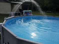 Upgraded Intex 14x42 With Pics Pool Ideas Pinterest Ground Pools Backyard And Swimming Pools